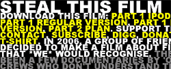 Steal this film - un film sul peer to peer (p2p) direttamente da Pirate Bay