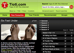 Tape It Off The Internet: RSS, BitTorrent e TV