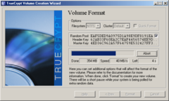 TrueCrypt, cripta filesystem in AES, blowfish...
