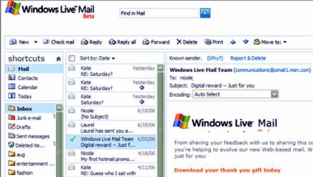 How to import outlook express files into windows live mail