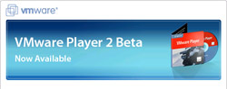 VMWare Player 2, ecco la beta
