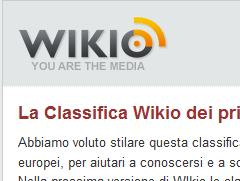 Wikio fornisce la classifica dei blog europei