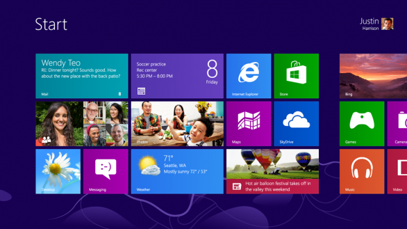Windows 8 raggiunge la fase RTM