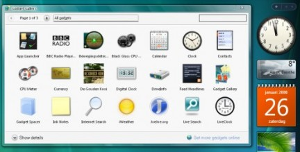 Installare la sidebar di Windows Vista in Windows XP