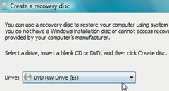Windows Recovery Disk