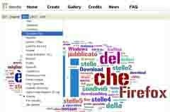 Wordle - generatore di tag clouds