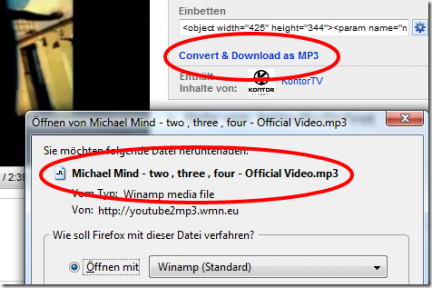 Un add-on Firefox per convertire i video YouTube in mp3