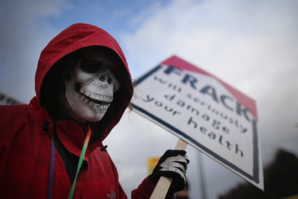 Anti-Fracking Protest March