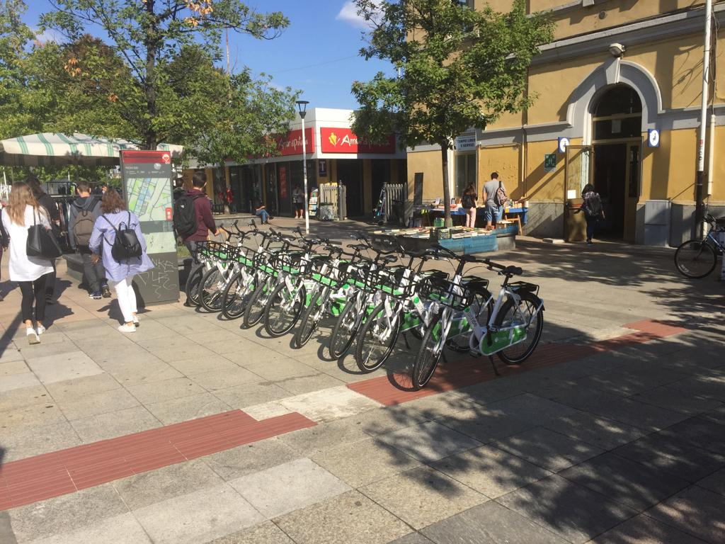 Bike sharing elettrico milano perch bitride diverso for Mobile milano bike sharing