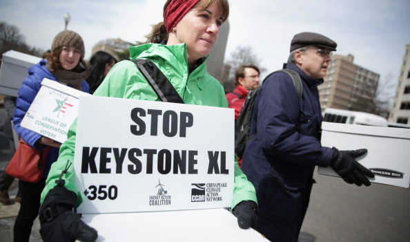 Activists Rally In Washington Against Keystone XL Pipeline