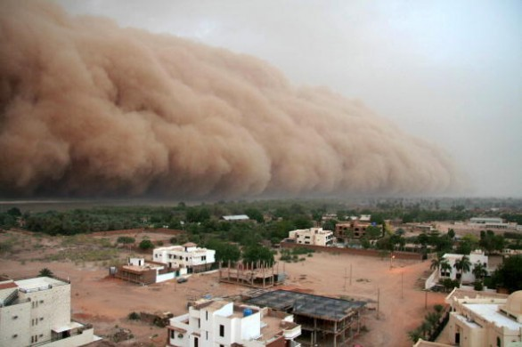 """A gigantic cloud of dust known as """"Haboo"""
