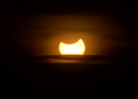 KENYA-SCIENCE-ASTRONOMY-ECLIPSE