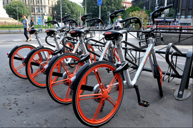 Bike sharing libero mobike milano tocca quota 35 mila for Mobile milano bike sharing