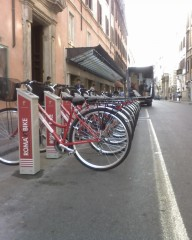 Il bike sharing a Roma, costi nascosti?
