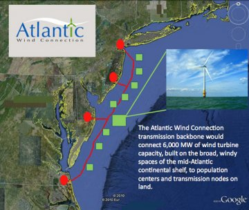 Google investe ancora nell'eolico: 200 milioni di dollari per l'Atlantic Wind Connection