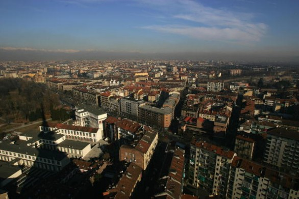General Views of Turin, Venue For 2006 Winter Olympics
