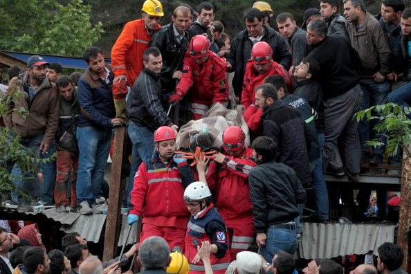 Scores Of Miners Trapped Underground After Fire In Mine
