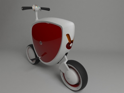 Concept Scooter Nissan Mori