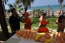 FruitSalad on the beach da Salerno a Castellabate