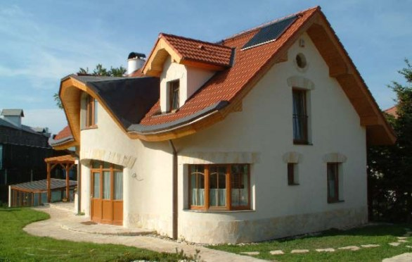 Low-energy house design in Brandýs nad -  LabemStudio ARC - arch. Oldřich Hozman.