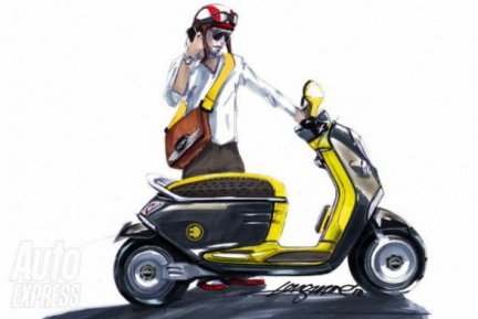Il concept di mini e scooter