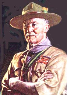 Baden Powell, scout e LAV