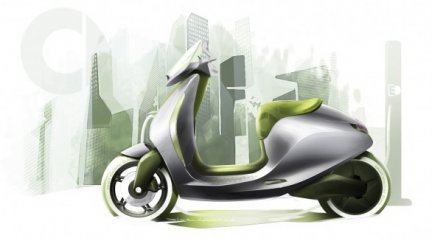 Il concept di Smart e scooter