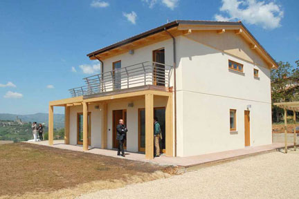 Smart house la casa ecologica made in italy - Progetto casa ecologica ...