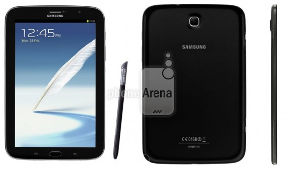 """Galaxy Note 8.0 in """"Charcoal Black"""""""