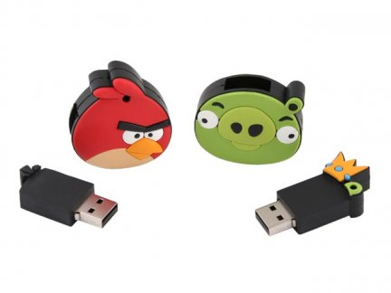 Le chiavette USB di Angry Birds