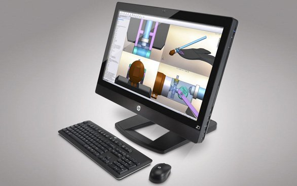 HP Z1: la prima workstation all-in-one da 27 pollici