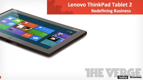 Lenovo produce ThinkPad 2 con Windows 8 e pennino