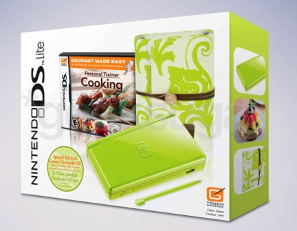 Lime Nintendo DS Cooking