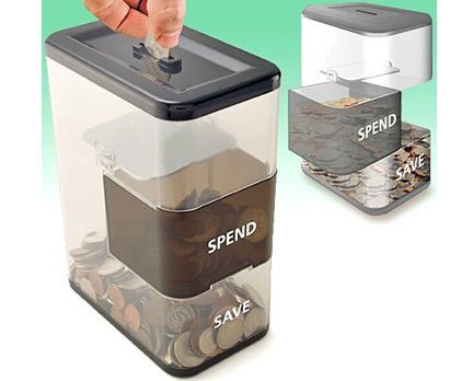 Spend/Save Coin Bank