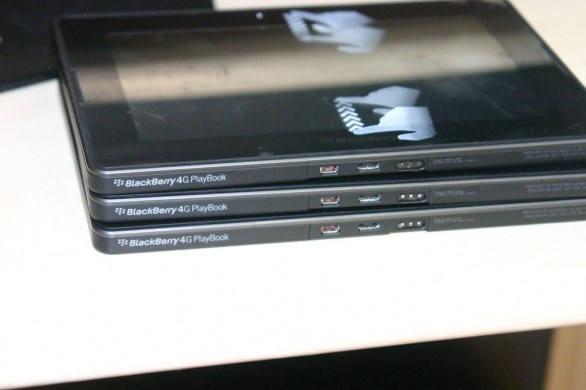 BlackBerry 4G PlayBook: le primissime foto del nuovo tablet RIM