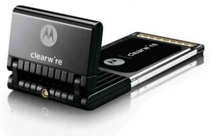 clearwire wimx pc card