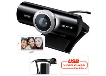 Creative live cam socialize hd webcam la webcam ad alta for Definizione camera