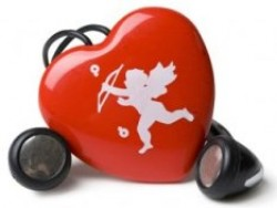 Heart Shaped Cupid MP3 Player