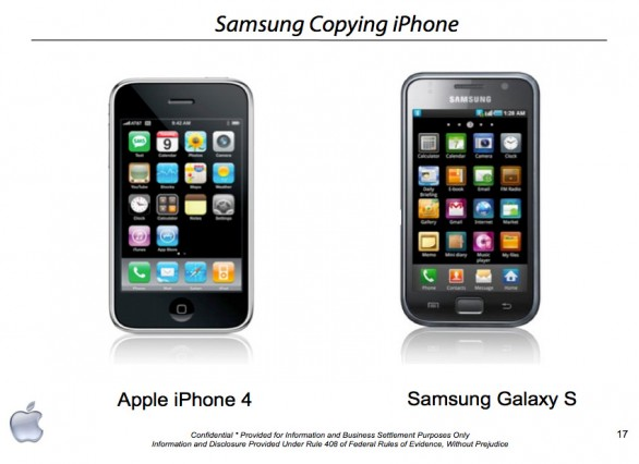 Apple iPhone vs Samsung Galaxy S