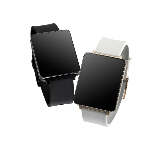 LG G Watch stand alone in foto
