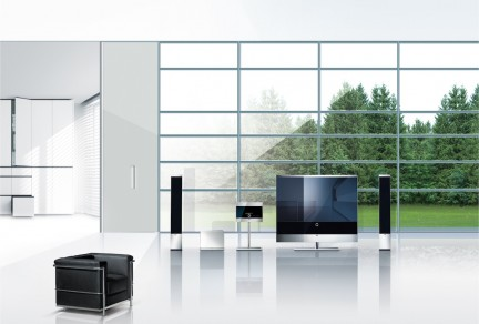 loewe reference home enterteinment con tv lcd full hd 200hz mediacenter multi room e. Black Bedroom Furniture Sets. Home Design Ideas