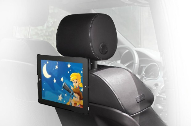 Meliconi Car Cinema, supporto da auto universale per tablet