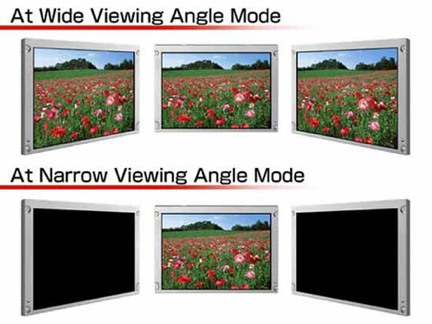 nec display privacy viewing angle