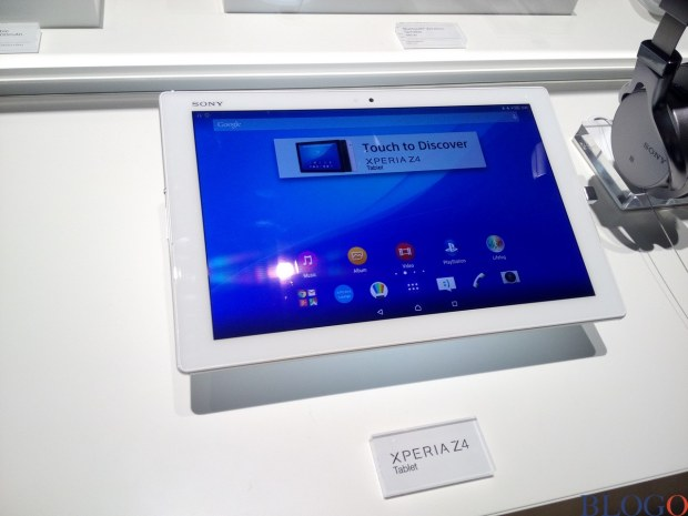Sony Xperia Z4 Tablet hands-on MWC 2015