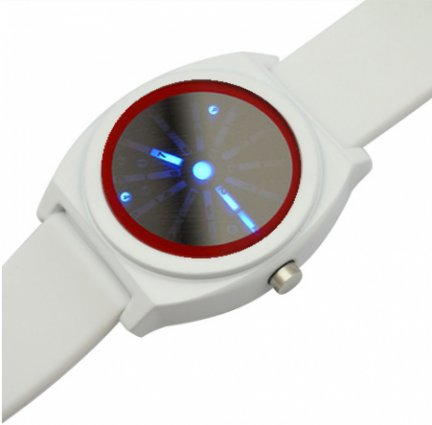 Space time orologio led per veri geek for Time to space