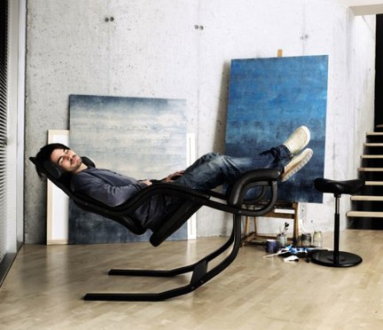 Stokke Gravity chair, quando la comodità è un must