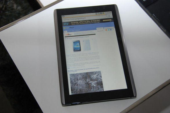Tablet Acer Android 3.0 da 10 pollici