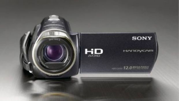 Sony handicam hdr cx505ve full hd nuova videocamera in for Definizione camera
