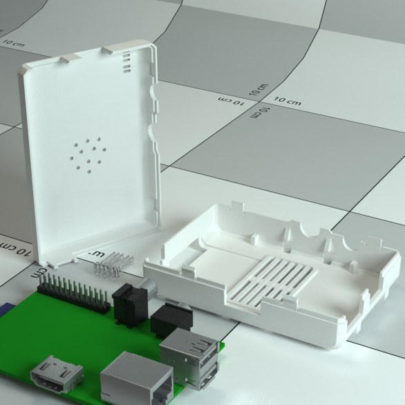 galleria case per il Raspberry Pi