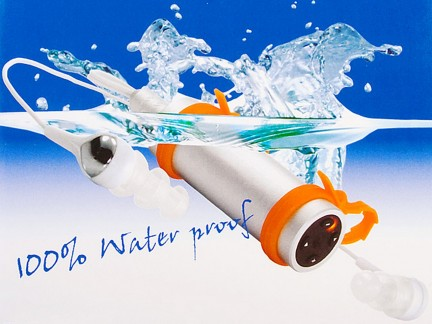 Waterproof MP3 Player: lettore Mp3 subacqueo
